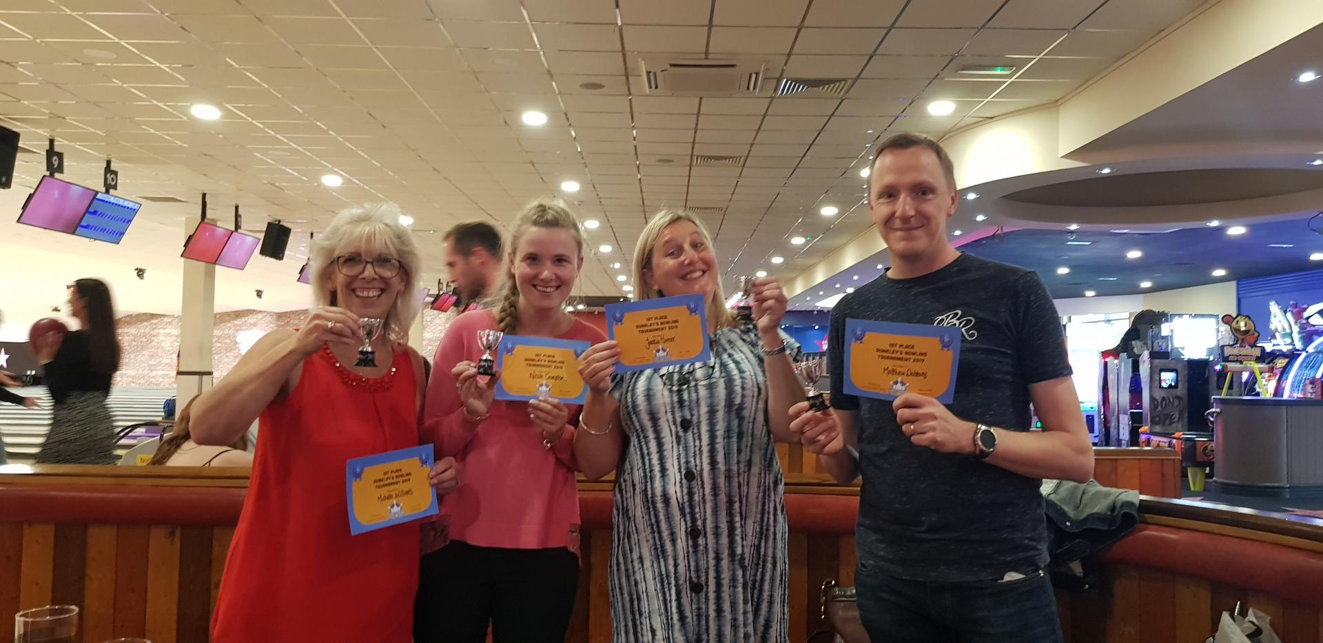 Dunkley's Bowling Social 2019