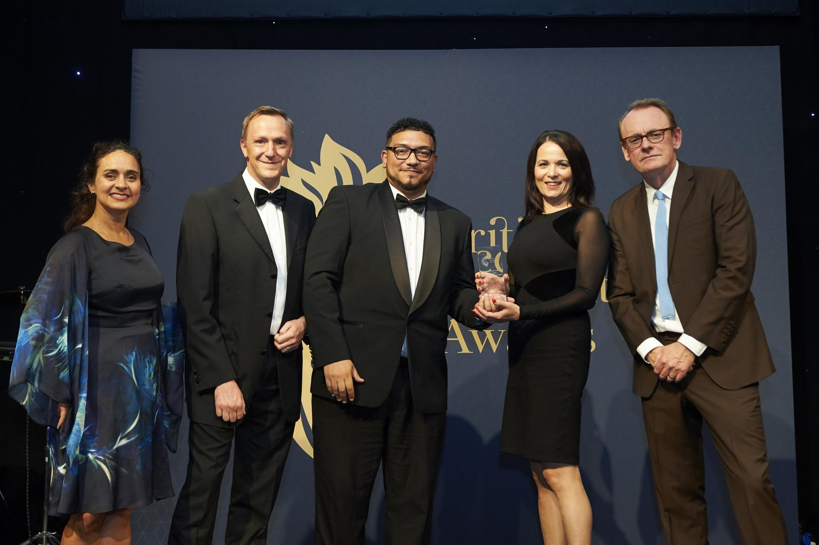 Dunkley's are named As The 'Independent Firm Of The Year: South-West, England' at the British Accountancy Awards