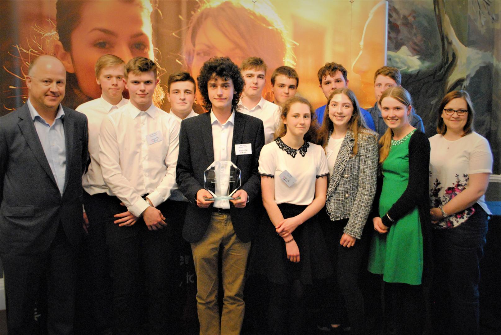Phonic Farm Young Enterprise West of England Winners
